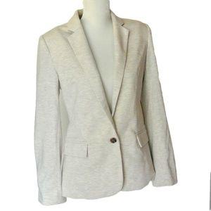 Anthropologie Cartonnier Knit cotton Blazer Jacket
